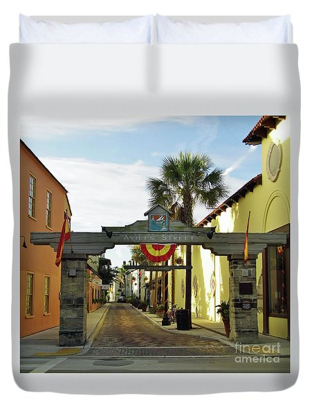 Aviles Street Duvet Cover