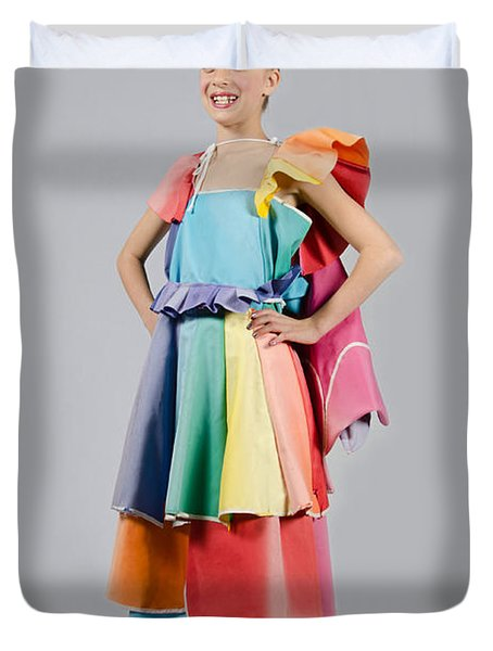 Aviva In Patio Umbrella Dress Duvet Cover