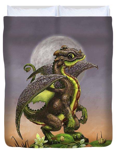 Avocado Dragon Duvet Cover