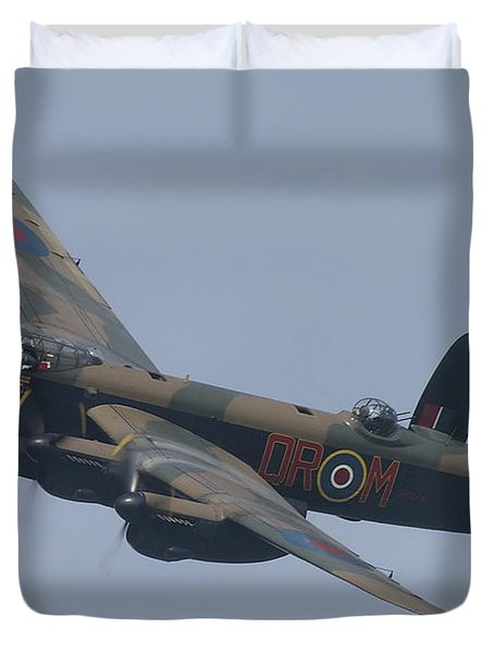 Avro Lancaster B1 Pa474  Duvet Cover by Tim Beach