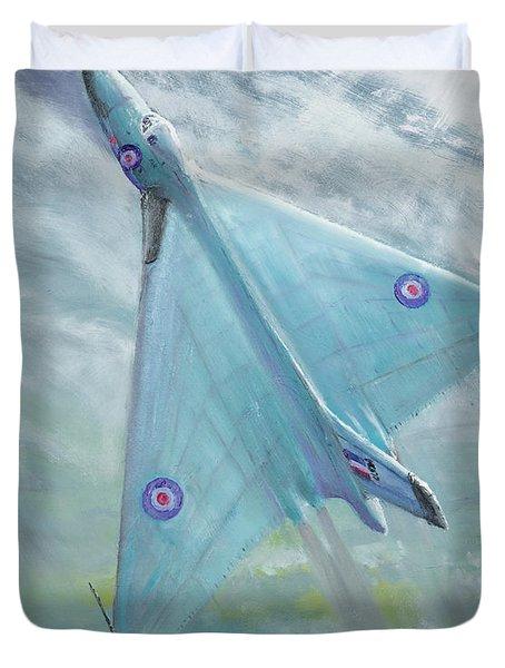 Avro Vulcan B1 Night Flight Duvet Cover