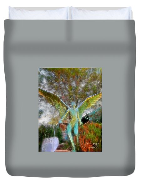 Duvet Cover featuring the photograph Awaken by Gina Savage