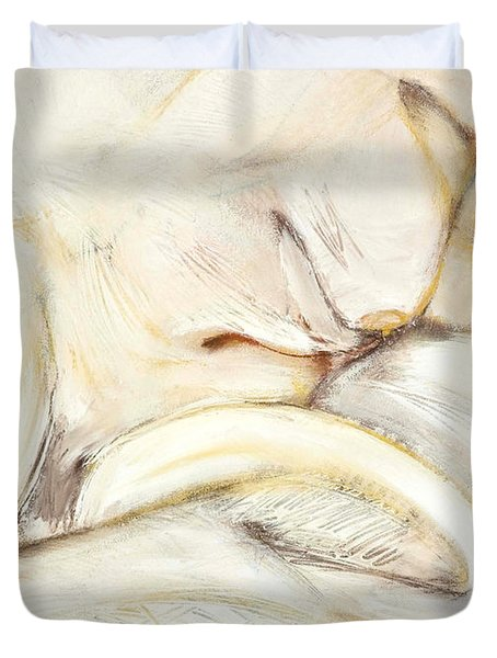 Award Winning Abstract Nude Duvet Cover
