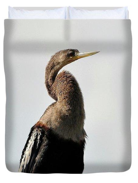 Awesome Anhinga Duvet Cover by Al Powell Photography USA