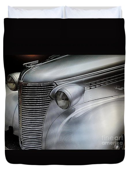 Awesome Silver Grill Duvet Cover