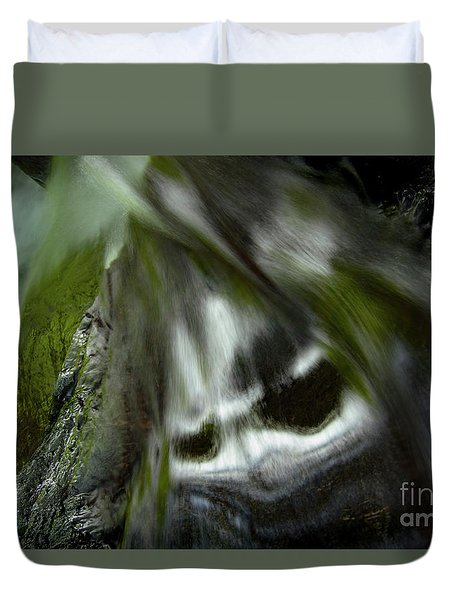 Duvet Cover featuring the photograph Awesome by Tatsuya Atarashi