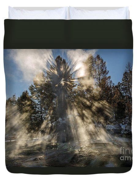 Awestruck Duvet Cover by Sue Smith