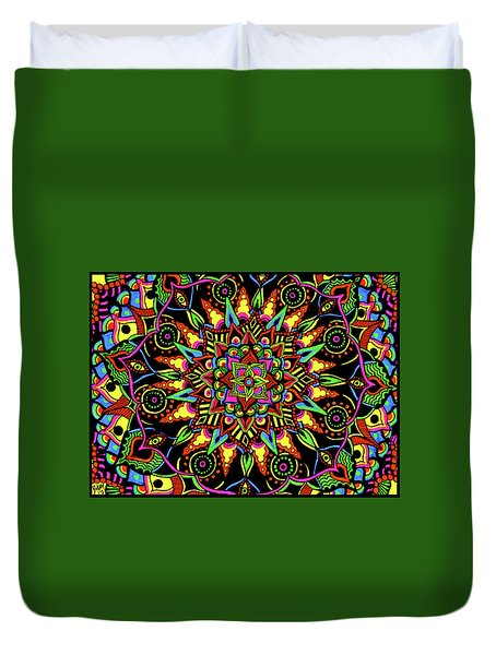 Axis Of Change Duvet Cover
