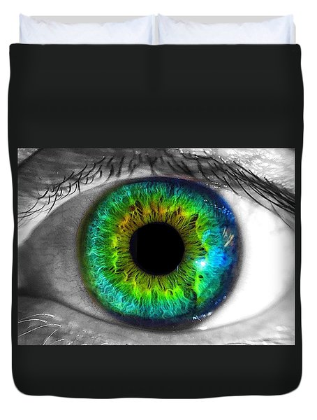 Aye Eye Duvet Cover