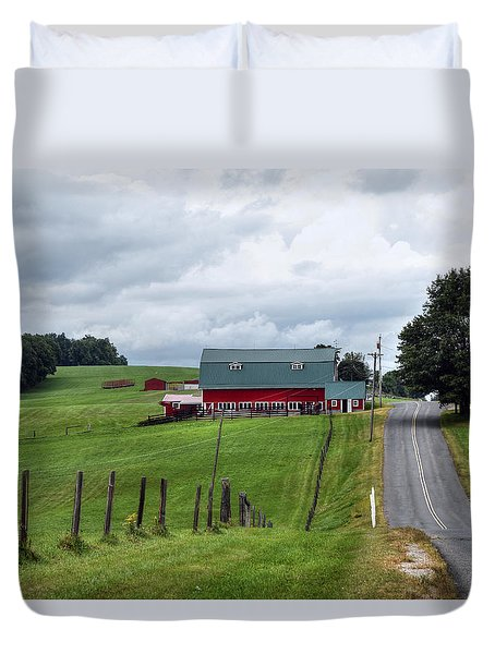 Ayrhill Farm No. 1 - The Berkshires Duvet Cover