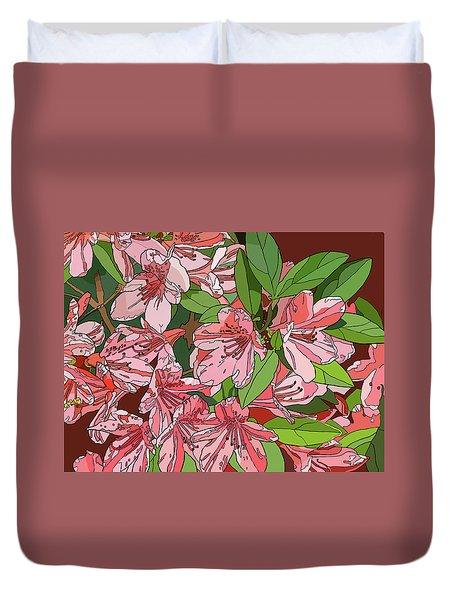 Azalea Bunch Duvet Cover