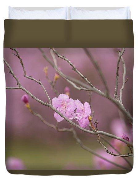 azalea III Duvet Cover
