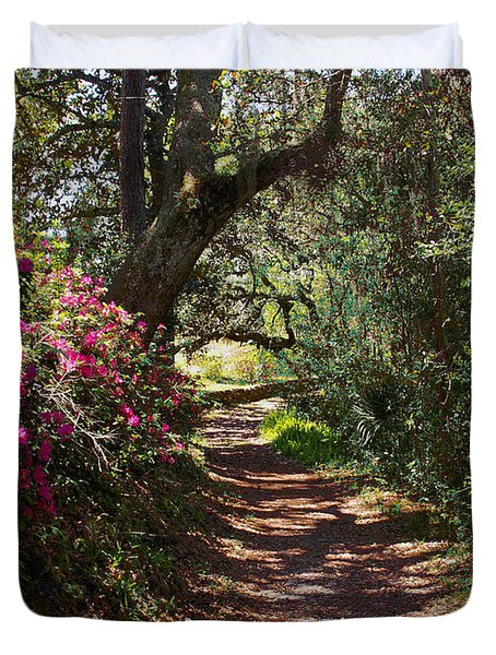 Azalea Path  Duvet Cover