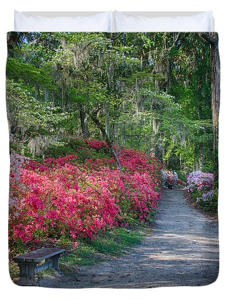 Azalea Path Duvet Cover