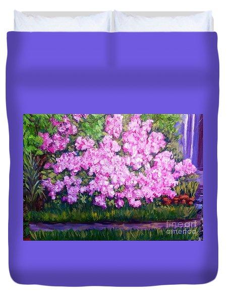 Azalea Spring Duvet Cover