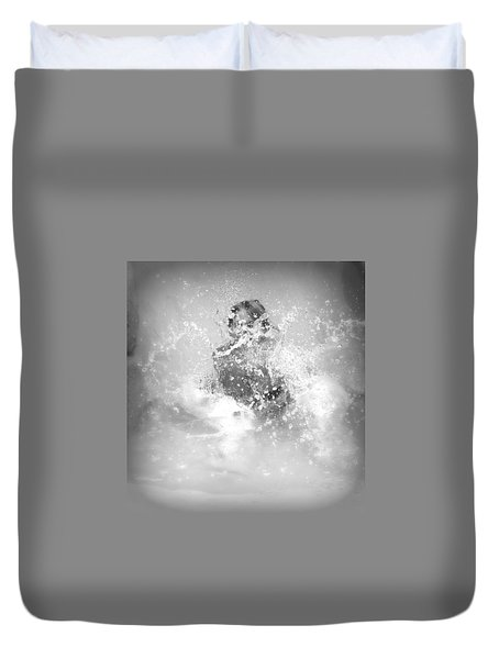 Azlinn Splash Duvet Cover