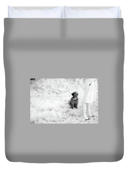 Duvet Cover featuring the photograph Azores In Infrared 1 by Bruno Rosa