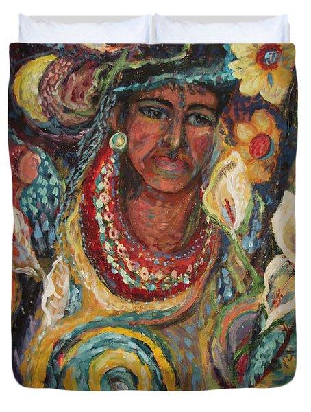 Aztec Garden Duvet Cover