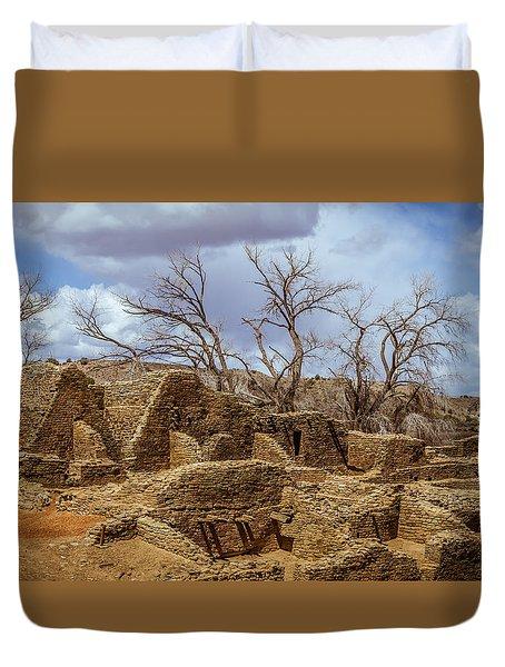 Aztec Ruins, New Mexico Duvet Cover