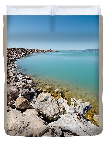 Azure Waters Duvet Cover