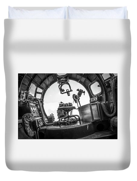 B-17 Bombardier Office Duvet Cover