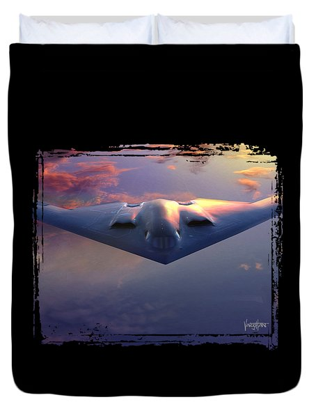 B-2 Spirit No. 3 Duvet Cover