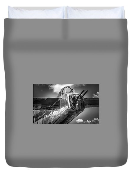B-25 - Bw Series Duvet Cover