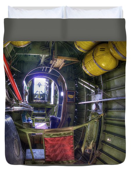 B-24 Duvet Cover