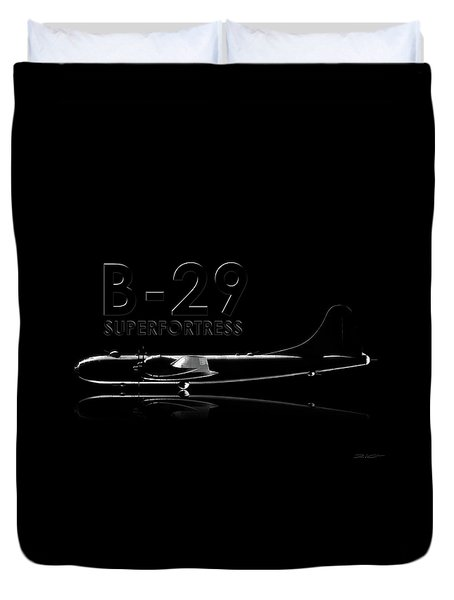 B-29 Superfortress Duvet Cover by David Collins