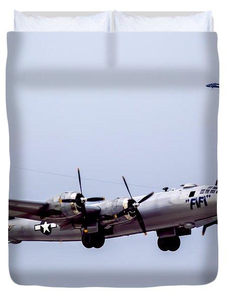 B-29 Superfortress Duvet Cover