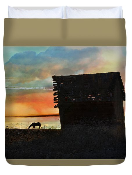 B. C. Barn # 1672 Duvet Cover