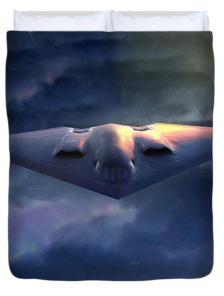 B2 Spirit Duvet Cover
