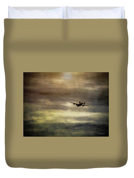 B24 In Flight Duvet Cover