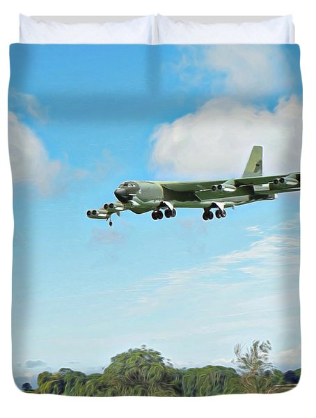 B52 Stratofortress -2 Duvet Cover