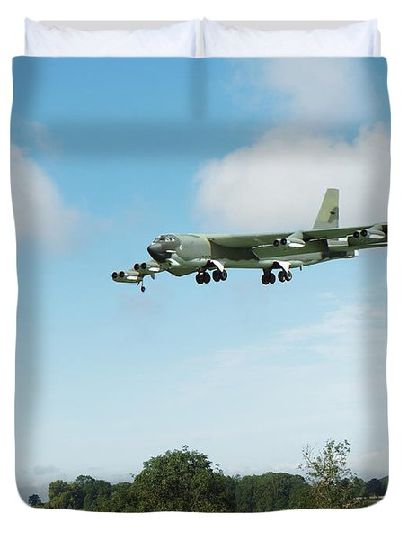 B52 Stratofortress Duvet Cover