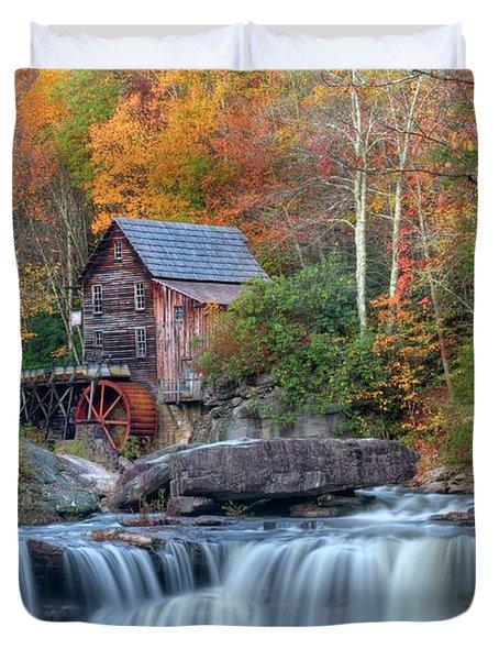 Babcock Grist Mill  II Duvet Cover