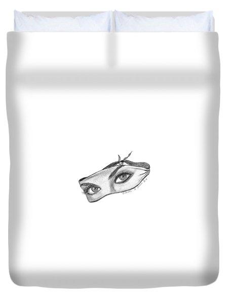 Babemask Duvet Cover