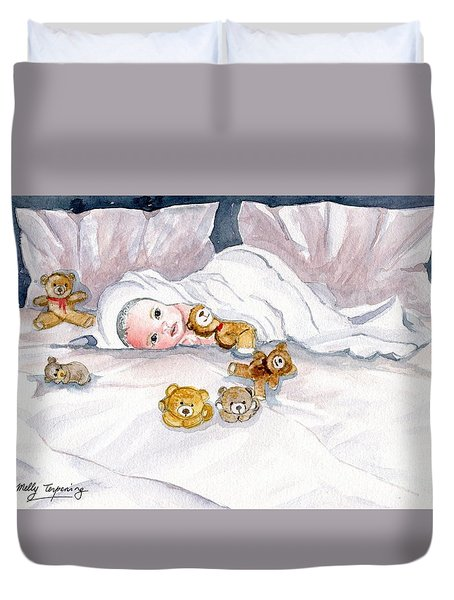 Baby And Friends Duvet Cover