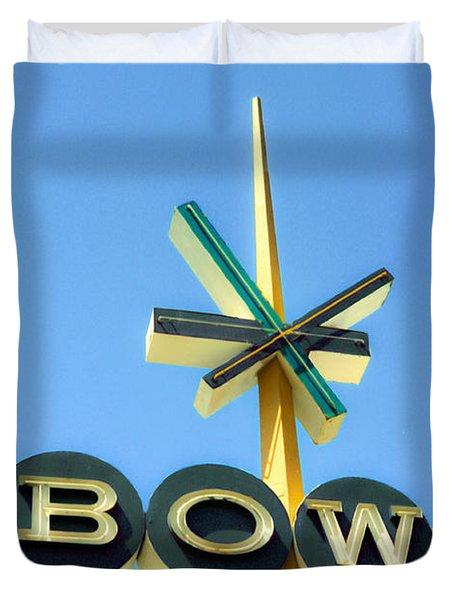 Baby Blue Bowl Duvet Cover