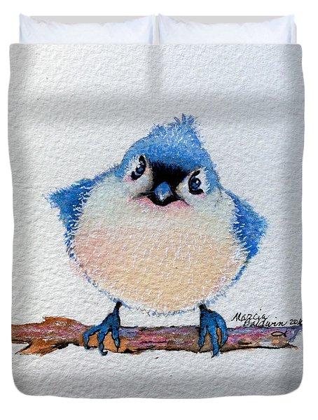 Baby Bluebird Duvet Cover