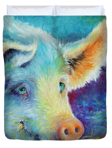 Baby Blues Piggy Duvet Cover