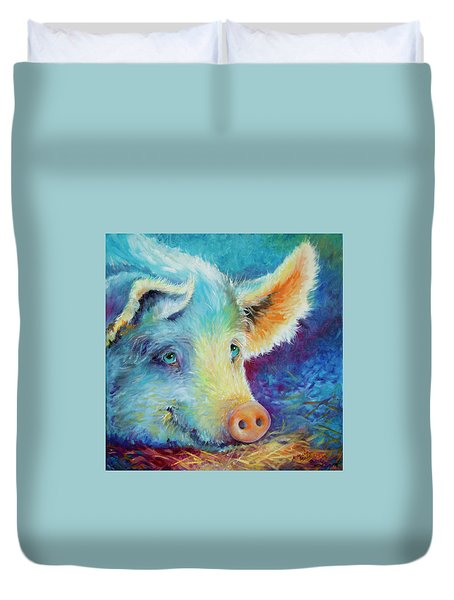 Baby Blues Piggy Duvet Cover