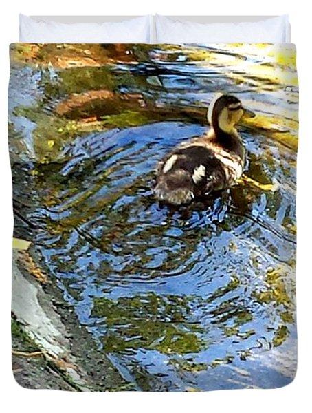 Baby Duck Duvet Cover