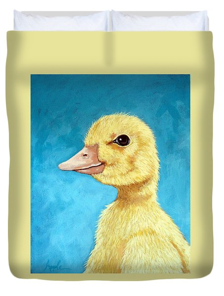 Baby Duck - Spring Duckling Duvet Cover