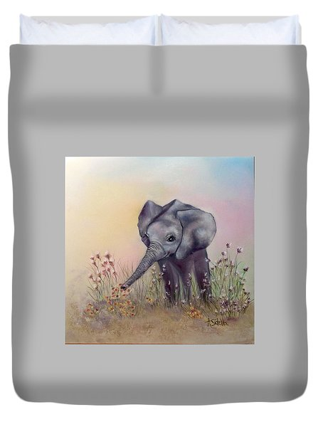 Baby Ellie  Duvet Cover