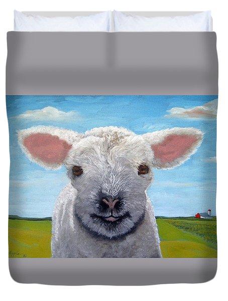 Baby Farm Lamb Sheep  Duvet Cover