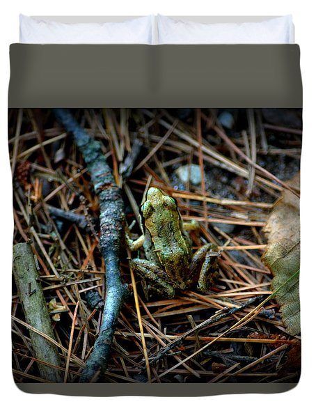 Baby Frog Duvet Cover