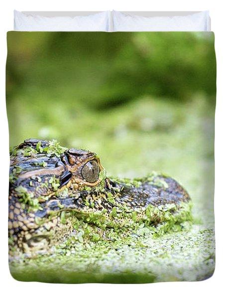 Baby Gator Duvet Cover