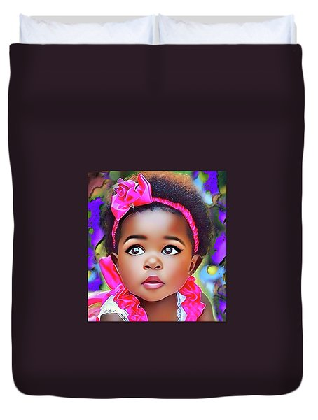 Baby Girl Duvet Cover