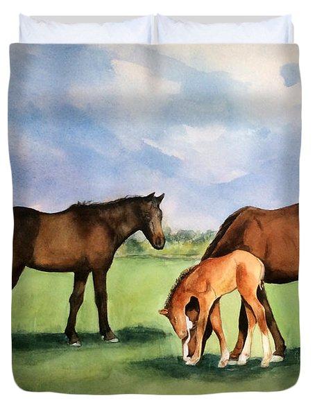 Baby Horse Duvet Cover